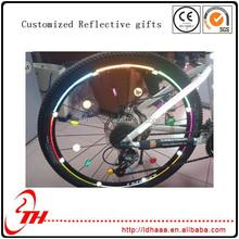 decorative bicycle wheel bike spoke reflectors rider warning reflective accessories