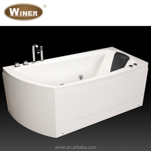 Indoor Freestanding White Oval Acrylic Portable 1 One Person Sex Massage Hot Tub