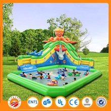 2015 lovely girl inflatable bounce houses inflatable slide for rent