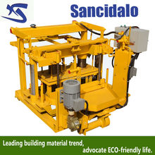 QT40-3A manual concrete sell directly brick making machinery