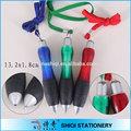 barato y durable de grasa de goma mini pluma de la pluma cordón