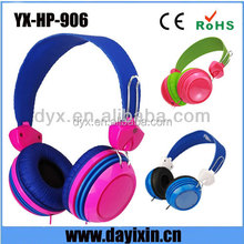 Fashional Neon headphone colorful Anime headphone from Shenzhen factory