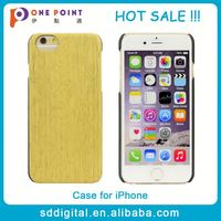 4.7 inch hard wooden grain cell phone case for iphone