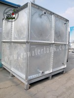 mineral galvanized steel water tank with CE certificate