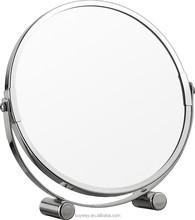 Latest fashion bathroom table makeup vanity mirrors