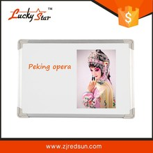 universa polyester steel coated surface mobile interactive whiteboard tv with whiteboard dry eraser