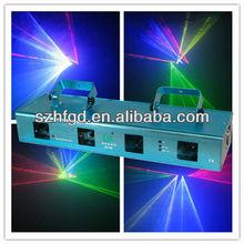 RGBY 4 heads laser light