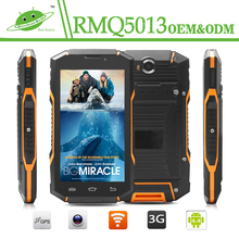 Factory Wholesale 5 Inch IP68 waterproof Rugged phone NFC quad core Waterproof Mobile Android Phone