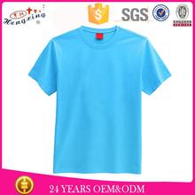 2016 Fashion t shirt bulk order cheap 100% cotton wholesale blank t shirts