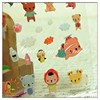 dot clear epoxy stickers, printing epoxy sticker, bear shape epoxy sticker