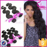 Unprocessed human hair weave body wave 3pcs 18inch wholesale pure indian remy virgin hair weft weave 100% human hair 6a grade