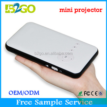 The newest mini projector double WIFI 5G DLP mini projector mobile phone with bluetooth
