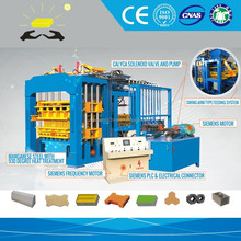 Paver blocks interlocking type QT12-15 paving brick making machine for sale