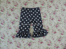 2015 new fashion boutique wholesale little girls modeling panties polka dot girls full panties