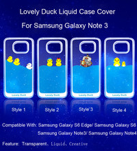 3D Liquid Dynamic Case Back Cover For Samsung Galaxy Note 3