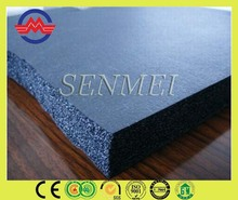 sound proofing foam rubber sheet construction material