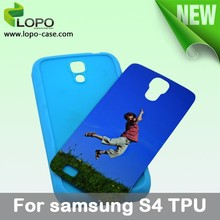 sublimation TPU mobile phone case for Samsung Galaxy S4