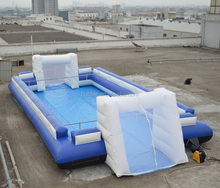 2015 Hot sale inflatable soccer field, inflatable soap soccer field/arena/pitch
