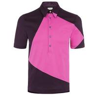 Men color combination design polo shirt