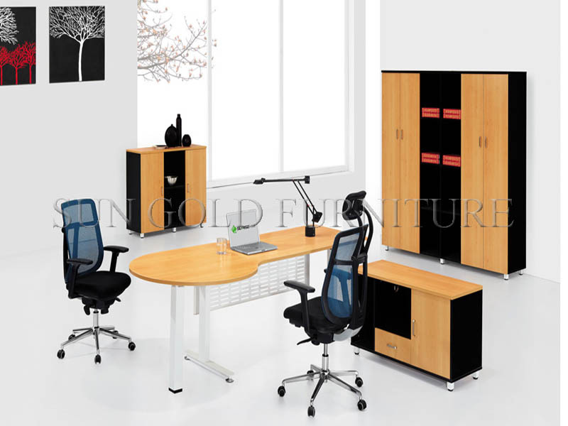 Executive Office Table With Glass Top : ... glass top,office table with steel foot design,office executive desk