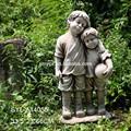 de fibra de vidrio de gran tamaño figura regalo estatua del jardín