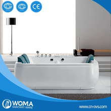 free-standing massage bathtub
