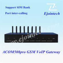 Wireless 8 Ports 32 SIMs smart home gateway GSM/GPRS Fixed wireless terminal &RJ45/USB interface