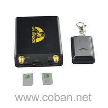 gsm gps tracker Supports Temperature sensor, Fuel sensor and dual sim card with gps tracking chip