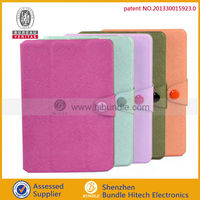 New Arrival for Apple iPad Mini Smart Cover Trifold Leather Case
