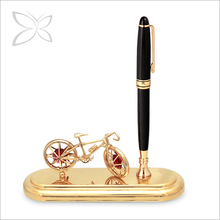 Deluxe Gorgeous Gold Plated Crystals Pen Gift