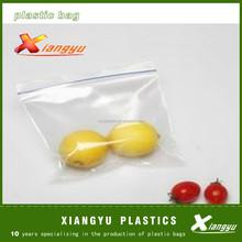 safety plastic food packaging ziplock bag