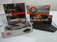DQ Motorcycle Chain and Sprocket set