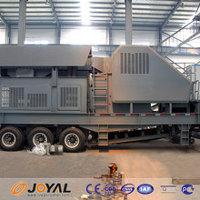 China professional manufacture coal movable crushing plant price