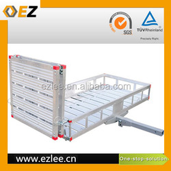 Car Rear luggage carrier, hitch cargo carrier