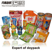 Packaging Expert on Stand up pouches with Spout for Juice &liquid Package