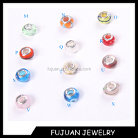 Cheap 925 Sterling Silver Core Murano glass beads For All European Charm Bracelet