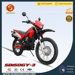 Export High Quality Chinese Pit Bike 150CC Dirt Bike for Sale SD150GY-3
