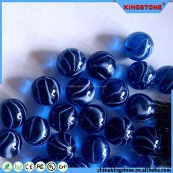 Latest new design 11-19mm glass balls,originality accessory with small size glass balls