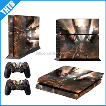 New 2014 wholesale price protective console cover skin sticker for ps4 console controller
