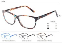 Simple design eyewear for young people European style eyeglasses acetate spectacular