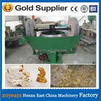 Hot sale in Sierra Leone , edge runner wet pan mill for gold