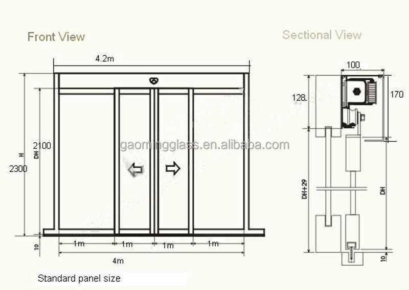 Commercial Automatic Sliding Door For Sale Buy Commercial