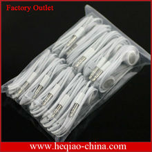 Stylish In-Ear Earphone Headphone For iPhone 5 4 4s Earphones with Remote and Mic .