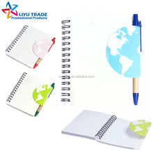 promotion gift eco pp notebook and pen