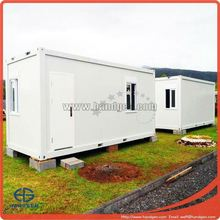Mobile prebuilt container house, can be used as office, living room, dormitory and workshop