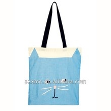 Durable Foldable Digital Printed Polyester / Canvas Shopping Bag in Cheap Price
