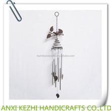 metal hanging birds wind chime