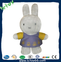 cute customized rabbit soft plush toy