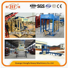 Money maker, Hongfa QT6-15D new hydraulic automatic concrete and cement block making machine