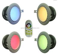 2.4G Mi-light 12W RGBW RGB+Warm/Cool White Wireless Wifi Control Downlight